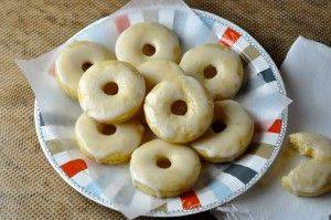 Baked Mini Buttermilk Donuts