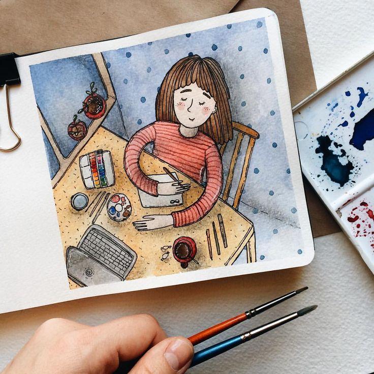 Вдохновляющие картинки артбук
