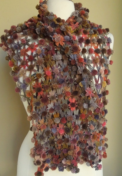 Colechique wool scarf  Sophie DIgard is a parisian knit wear designer