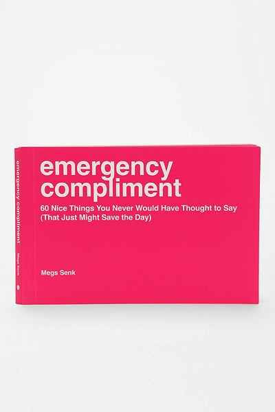 Emergency Compliment By Sourcebooks   Urban Outfitters