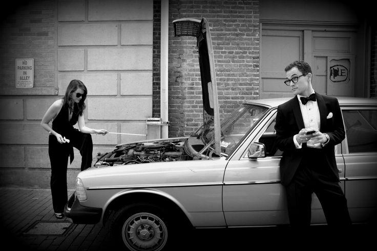 Black TieBenz: Black Ties Benz, Black Tiebenz, Photo