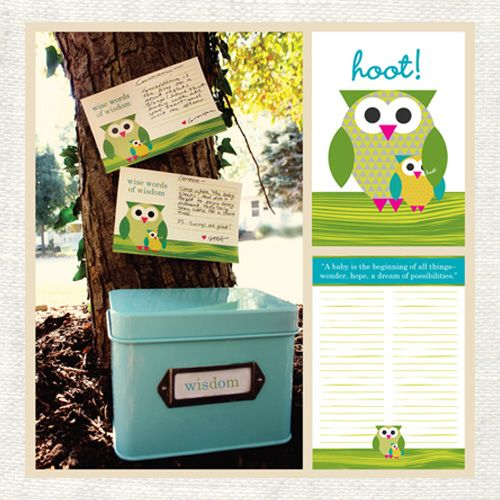 Free printable downloads - advice cards for a baby shower.  @Anisa Scholes you love owls and doing baby showers you would love this!