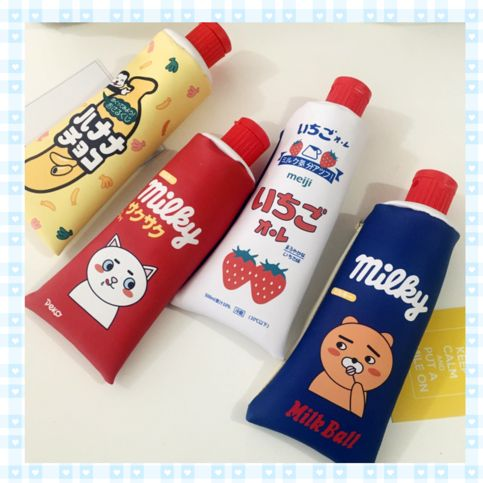 Toothpaste Pencil Cases *FREE SHIPPING on Storenvy