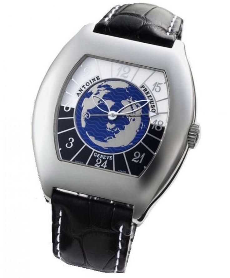 Часы Antoine Preziuso TWSSL.0228110T Collections Transworld Tonneau