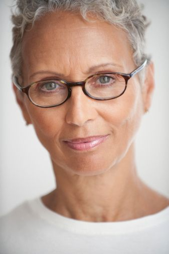 Eyeglass Frames For Gray Hair : 17 best images about glasses for gray haired women on ...