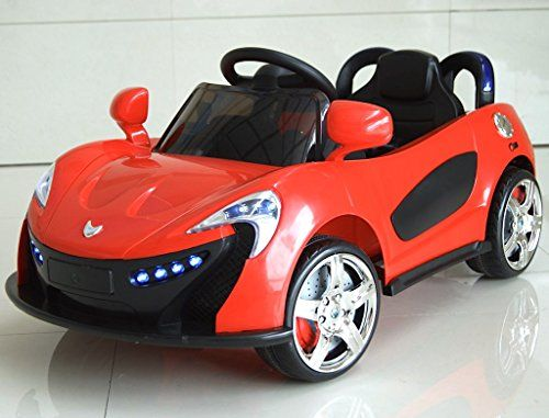 orange mclaren style 6v kids ride on car battery powered wheels remote control rc