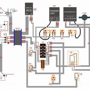 12v Wiring Diagram Camper Trailer Valid Campervan Wiring ... on