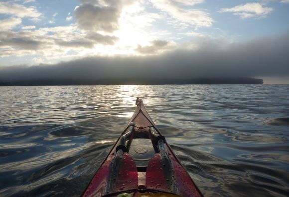 Video: Dawn Paddle Through Sydney Fog