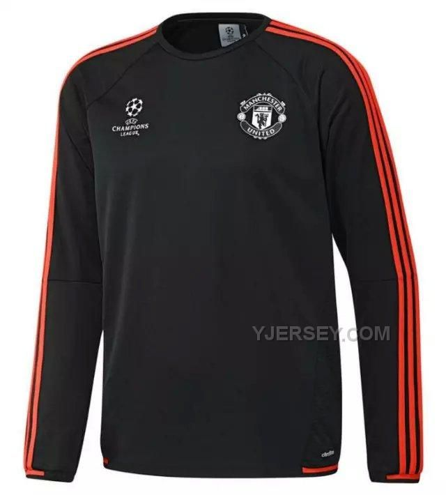 http://www.yjersey.com/1516-manchester-united-champion-leauge-black-sweater-top-shirt.html Only$41.00 15-16 MANCHESTER UNITED CHAMPION LEAUGE BLACK SWEATER TOP SHIRT Free Shipping!