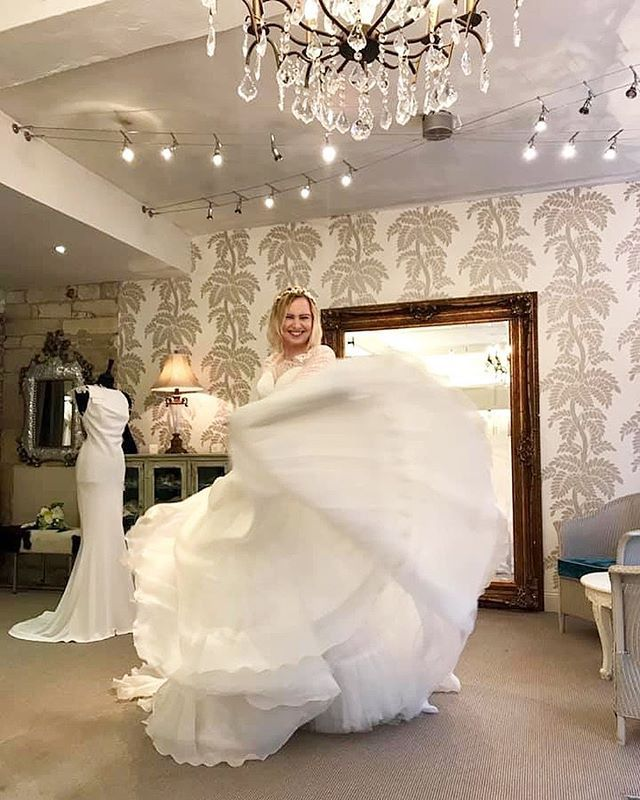 Sam Trying On The Suzanne Neville Wedding Dresses Again We