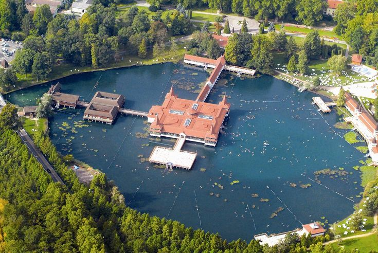 Hévíz lake - The venue for our weightloss water sports and therapy