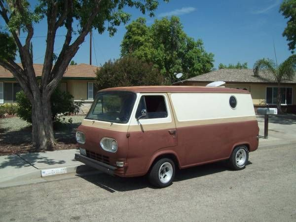 1962 Ford Econoline Vans Ford Chevy