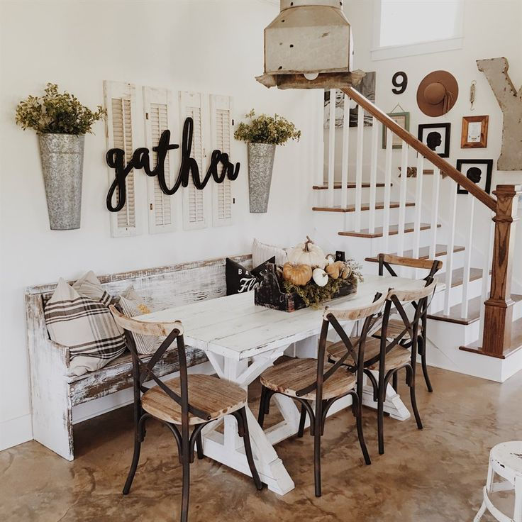 Reclaimed Wood Metal Dining Chairs