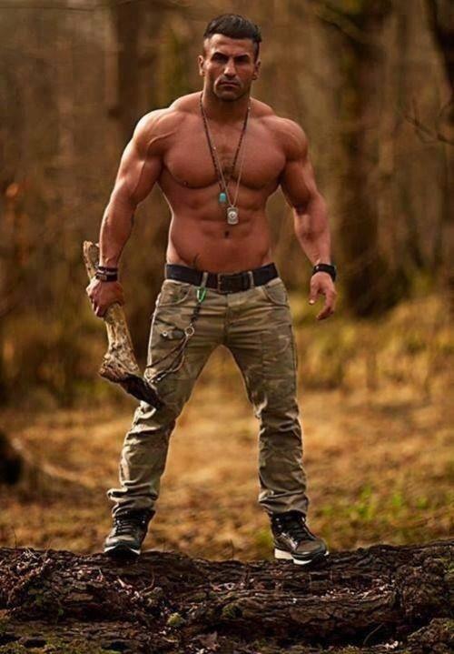 Insipired Muscle  Homens Militares, Homens E Masculino-4455