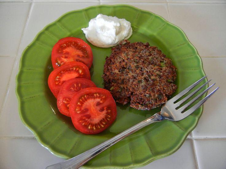 Shelly's Quinoa Burgers #healthy #recipes #meatlessmonday