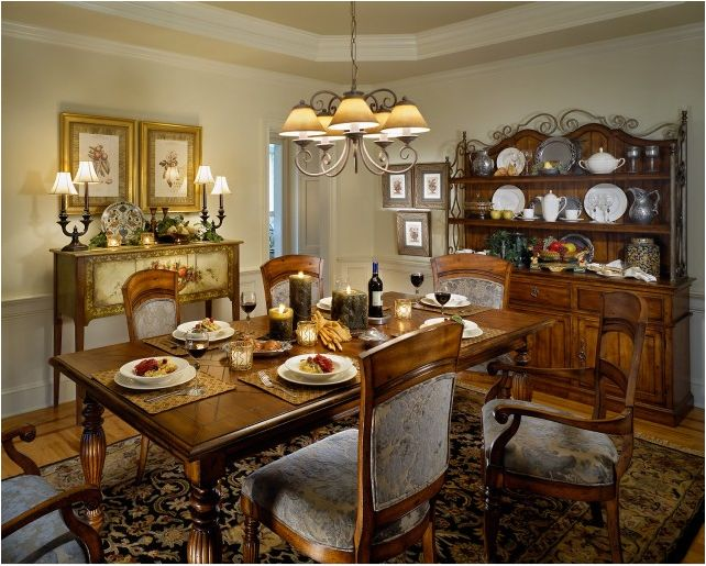 Best Dining Rooms Images On Pinterest Traditional Dining