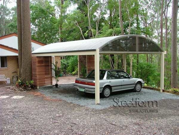 57 best carports images on pinterest carport ideas for Carport landscaping ideas