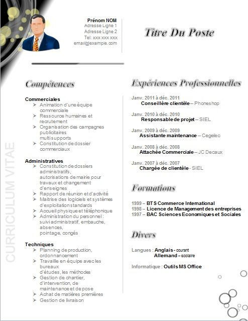 165 best cv images on Pinterest Resume, Cv template and Sample - pantry chef sample resume