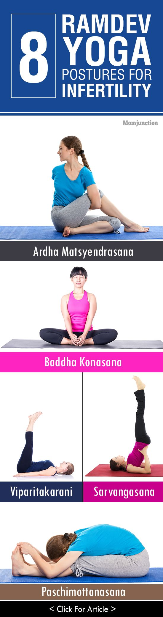 8 Effective Baba Ramdev #Yoga Postures For Infertility: Here are some yoga poses that can work wonders to boost your fertility