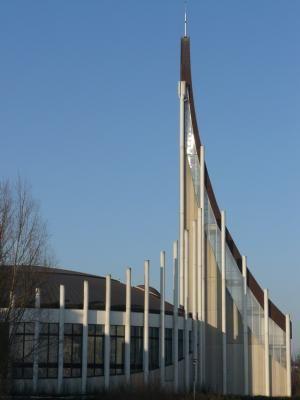 L'église Notre-Dame du Val, at Bussy-Saint-Georges