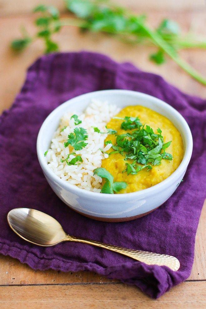 """Un """"Flo"""" de bonnes choses » Dahl – du placard – aux lentilles corail, lait coco et curry"""