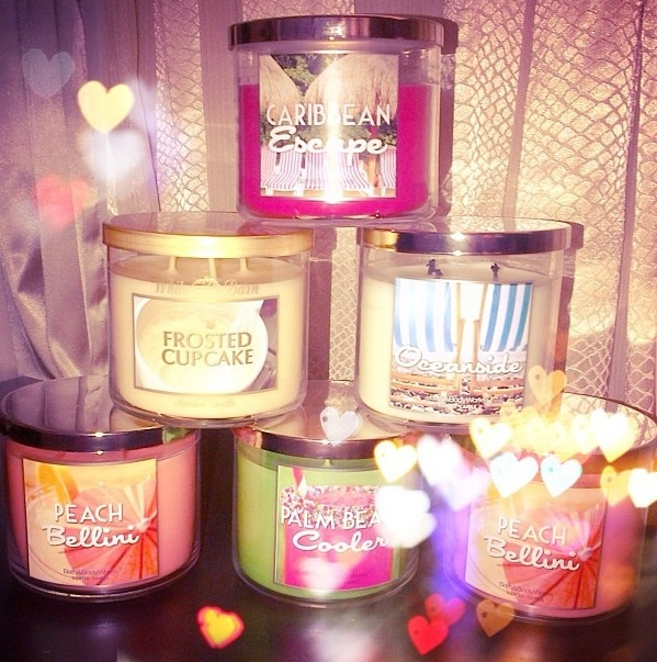 I know that it is not in the right categorie but I really love them and it is sail in a beauty shop… | Bath body works candles. Bath n body ...