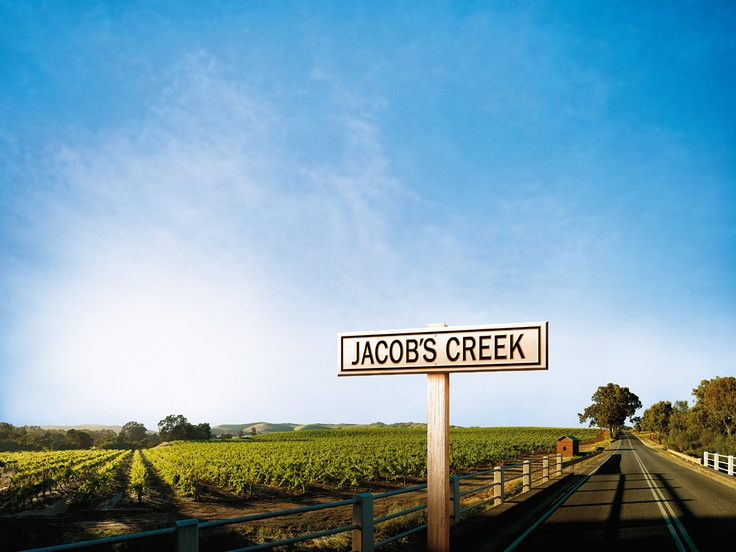 Jacob's creek Winery, just north of Adelaide