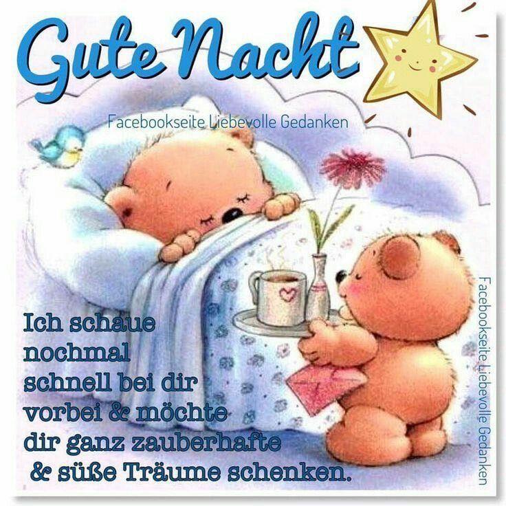 Gute Nacht Spruch Lustig