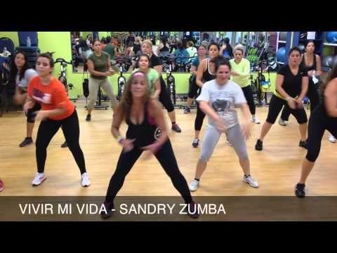 Marc Anthony - Vivir Mi Vida - Zumba Sandra - YouTube