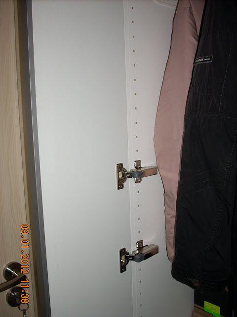 How-to: Change Pax sliding door to hinge door | IKEA Hackers Clever ideas and hacks for your IKEA