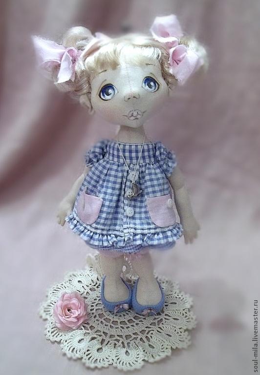 Коллекционные куклы ручной работы. Ярмарка Мастеров - ручная работа Китти. Handmade.