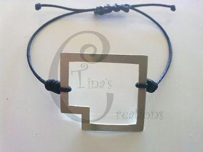 Tina's Creations - Handmade Jewels & More!: 8€ Βραχιολακι λειπει γωνια / Bracelet missing corn...