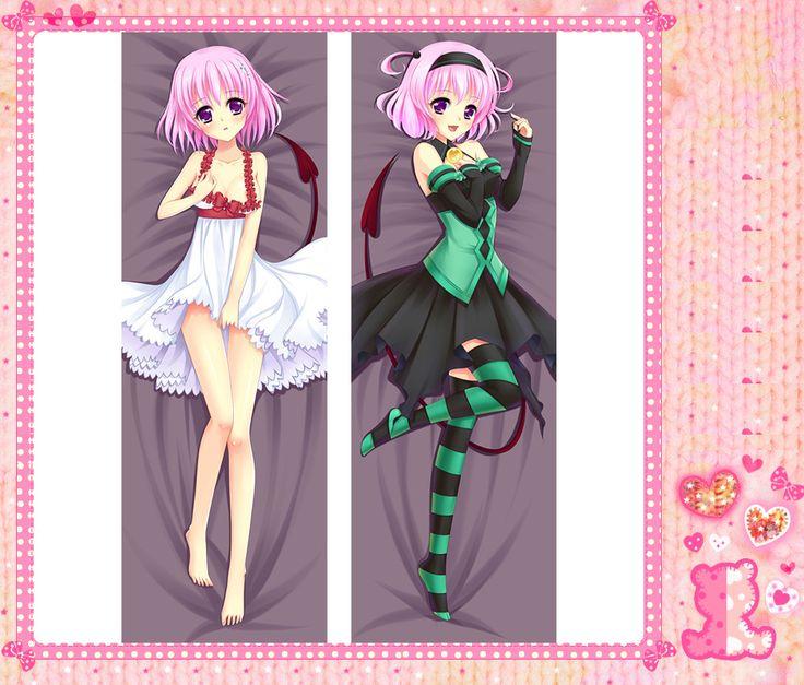 Anime Cartoon To Love Ru Darkness Momo Velia Deviluke   Double Bolster Hugging  Pillow Case Cover No.cbn002