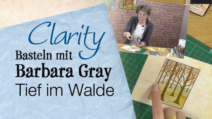 Basteln Mit Barbara Gray - Tief im Walde # Maskierung