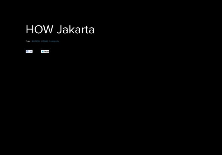 page on about.me – http://about.me/HOWjkt
