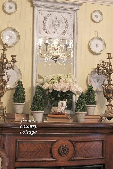 900 best images about french country decorating on for French country cottage bedroom ideas
