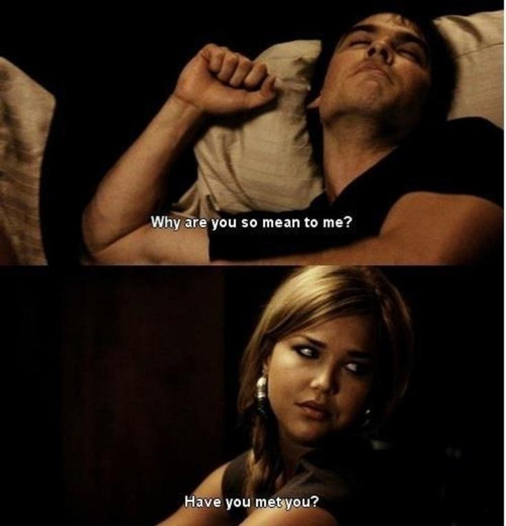 Hahah fair point. ;) Damon & Lexi. Season 1. The Vampire Diaries. ♥