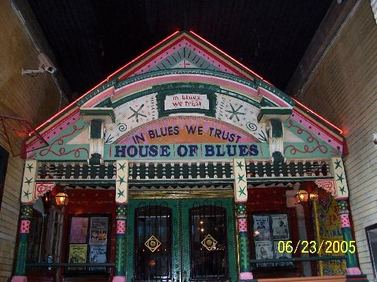 House of Blues in New Orleans.