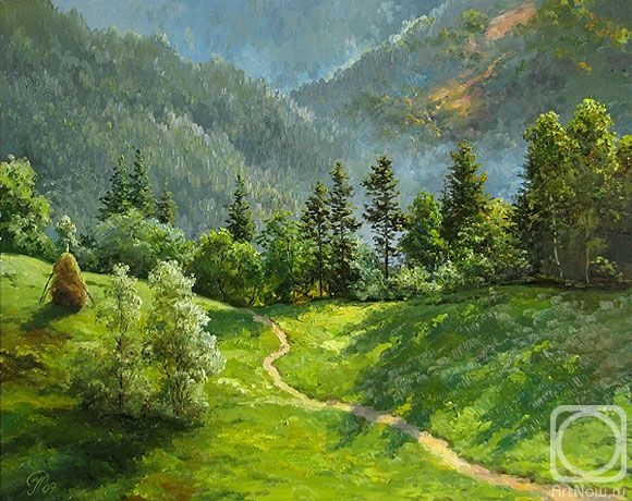 Ropyanyk Ihor. Morning in mountains