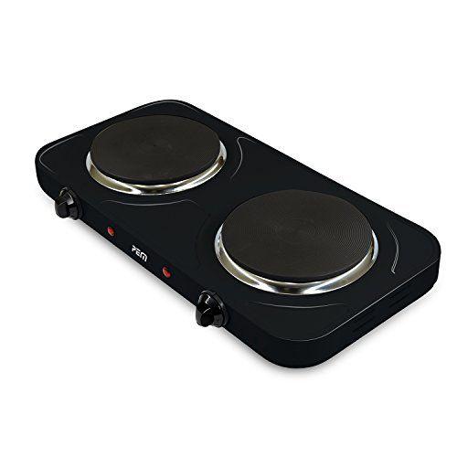 Plaque de cuisson électrique double 2500W – 2 feux 155mm et 185mm PEM HP-212: Produit(s) neuf(s) / Garanti(s) 1 an Facture avec TVA dans le…