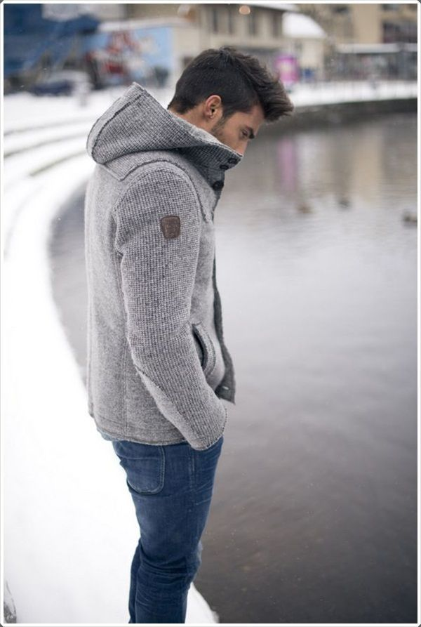 A jacket with a hood can help you in protecting your chest as well as you neck.