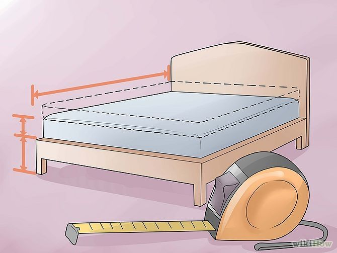 WikiHow: How to make a bedskirt!  Great tutorial.
