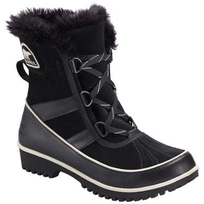 Sorel Black Tivoli II Suede Women Boot  ! Buy now at GetShoes.ca