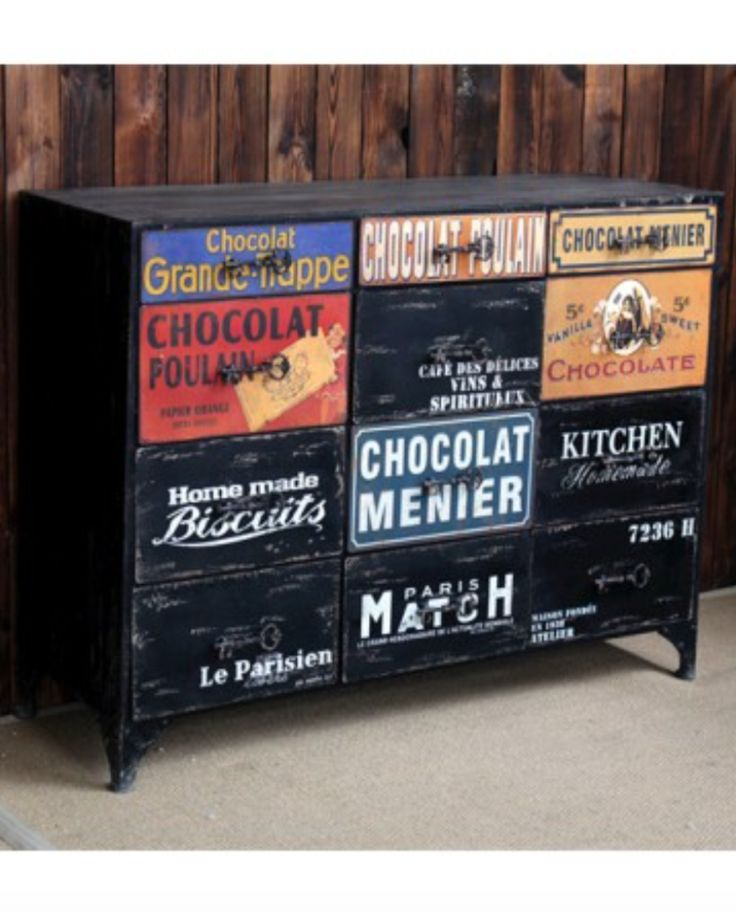 Le Parisen Industrial Sideboard – Allissias Attic & Vintage French Style