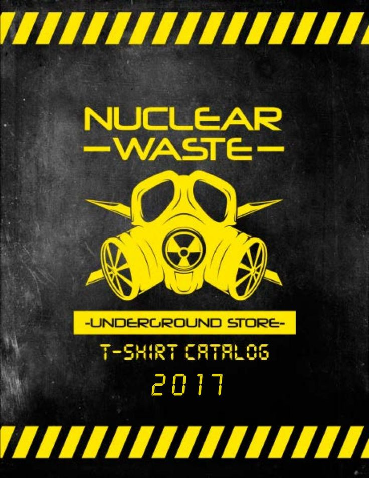 Nuclear Waste Catalogo camisas 2017