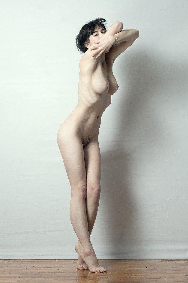 Art nude photo posing woman are