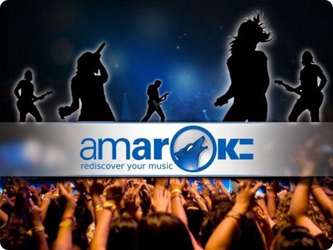 """Guida all'installazione di Kubuntu 14.04 """"Trusty Tahr"""": Media Player (8a parte).   1.- Amarok.  Come player audio e gestore raccolta musicale troviamo Amarok uno dei programmi più completi per la gestione della nostra raccolta musicale.  Amarok è un lettore multimediale di file audio sviluppato per l'ambiente desktop KDE, è però utilizzabile anche in altri ambienti desktop."""