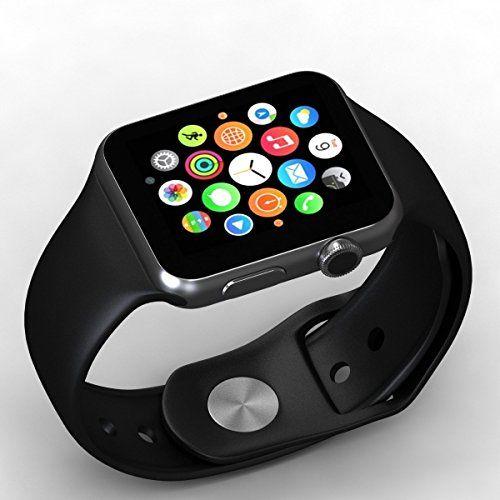 Microbirdss Men's Bluetooth Smartwatch (Black) | Electronics