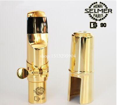 Perancis versi upgrade dari S90 Sax logam corong Alto/tenor/soprano/Profesional corong Gratis pengiriman