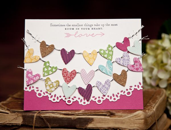 Room In Your Heart Card by Ashley Cannon Newell for Papertrey Ink (December 2013)